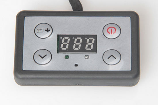 control panel for VVBK car heaters