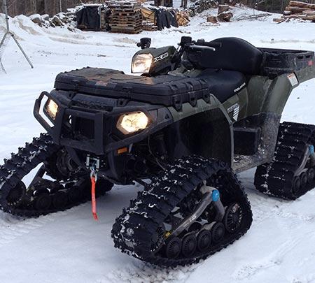ATV block heater