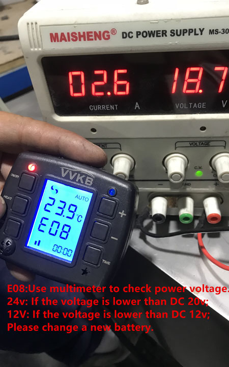 VVKB Parking Heater Trouble Shooting Guide - VVKB