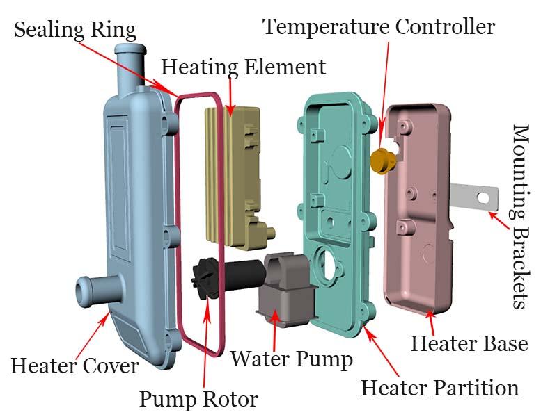 Heater Accessories Diagram