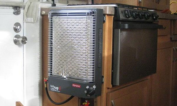 Electric RV heater