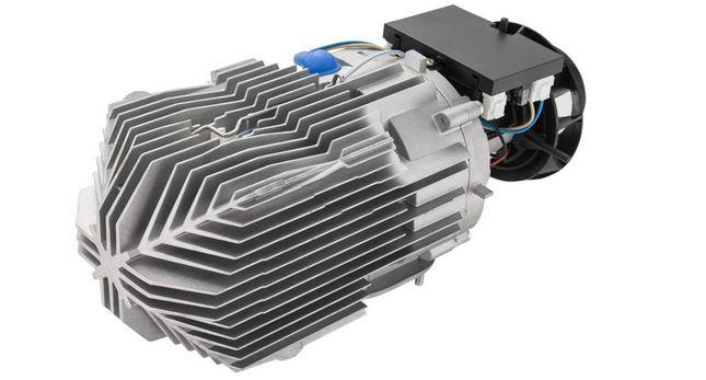Internal component of RV heater