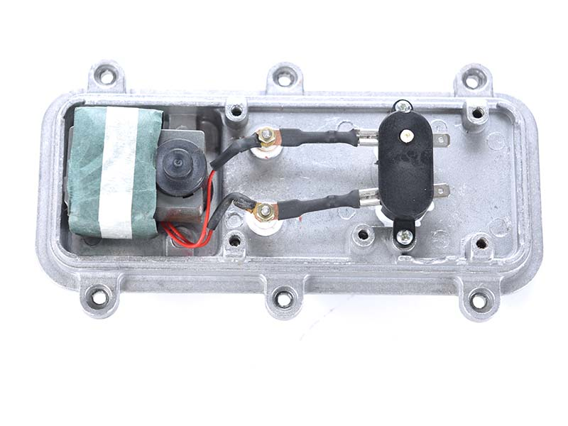 Temperature controller of block heater