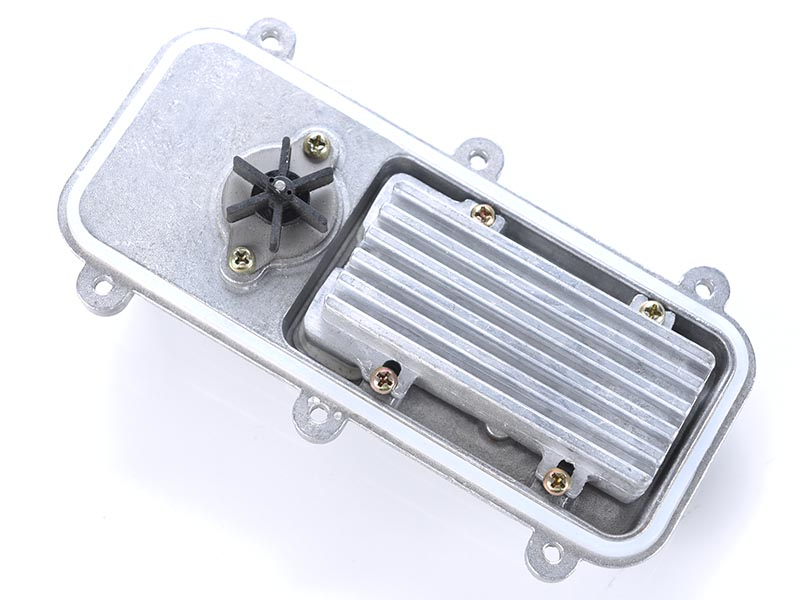 The heating element of the block heater